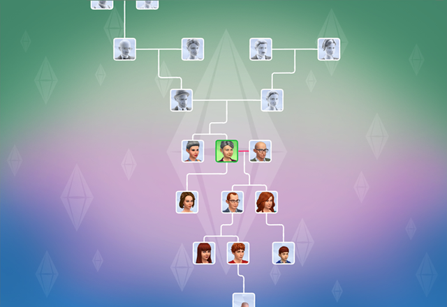 Sims 4 family tree update